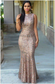Hollow Out Backless Bodycon Long Dress