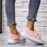 Fashion Chunky Bow Comfortable Sneakers