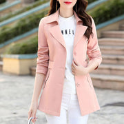 Plain OL Lapel With Wool Coat