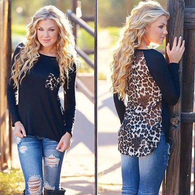 Scoop Lace Patchwork Long Sleeves T-shirt