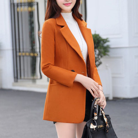 Double Breasted Midi Wool Coat
