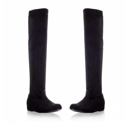 Inside Wedge Over the Knee Boots