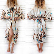 Bohemian Print Loose Beach Dress