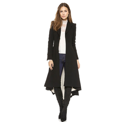 Black Wool Frock Coat