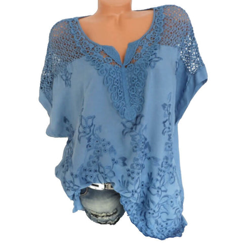 lace Loose T-shirt