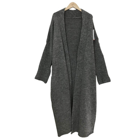 Loose Batwing Knit Cardigan