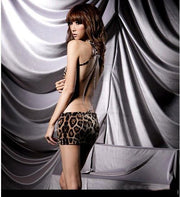 Stylish Sexy Leopard Backless Hot Girl Dress Clubwear - Shoes-Party - 2