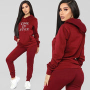 Women S Tracksuits Sport Women'S Sports Suits Casual Solid Letter Print Long Sleeve T-Shirt Long Pants Sports Set