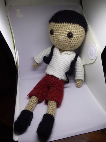 Crochet Pirate Doll