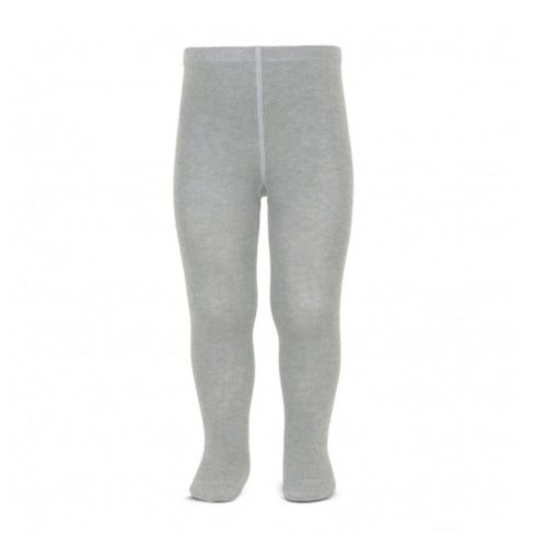 Basic Grey Cotton Tights