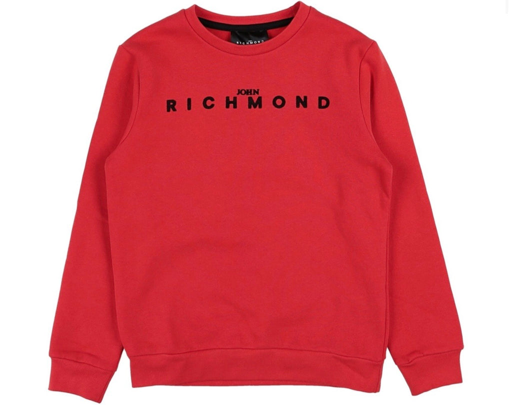 John Richmond JR Red Sweatshirt