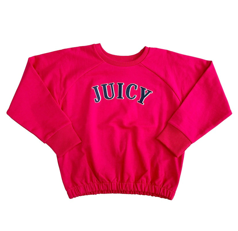JUICY By Juicy Couture Fuchsia Pink Sweatshirt