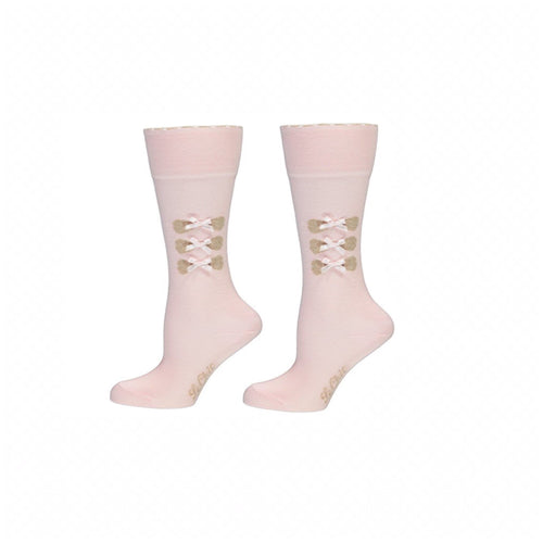Le Chic Pink Socks