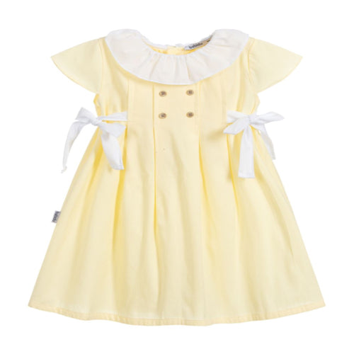 Babidu Girls Yellow Dress