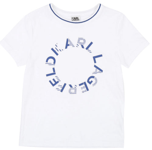 Karl Lagerfeld White Top