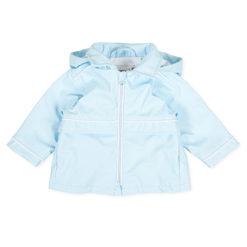 Tutto Piccolo Sky Blue Raincoat