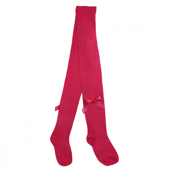 Pex Fuchsia Pink Bow Tights