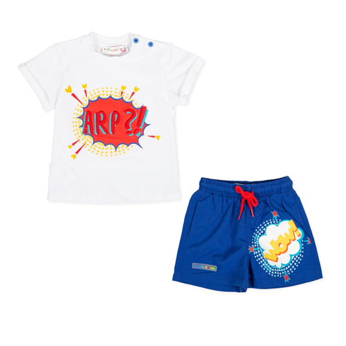 Agatha Baby Boys Short Set