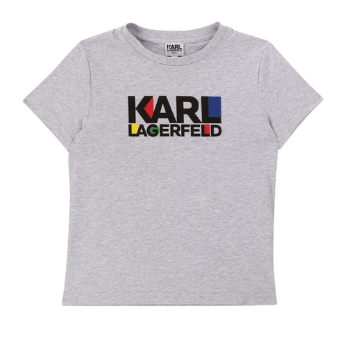 Karl Lagerfeld Grey T-Shirt