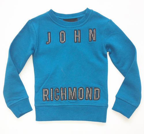 John Richmond JR Blue Sweatshirt