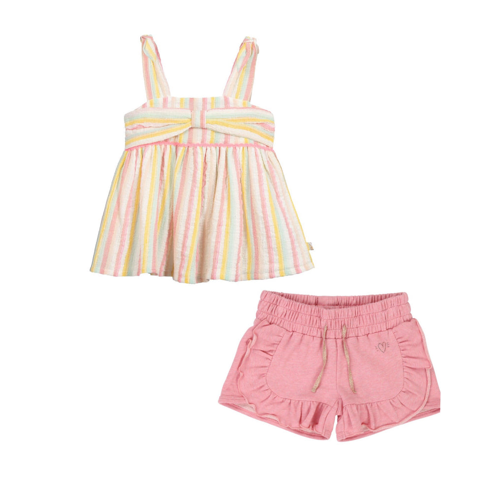 Billieblush Top and Short Set