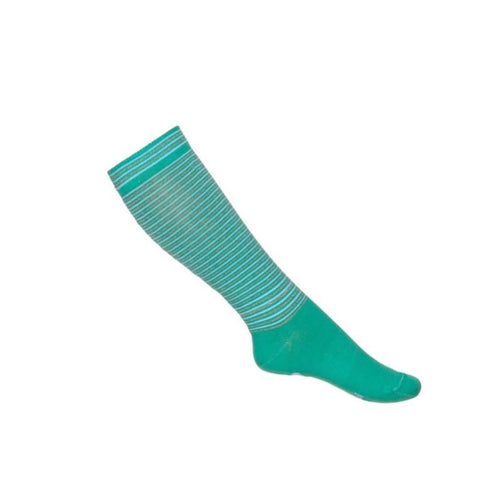 Mim-Pi Green Stripe Socks