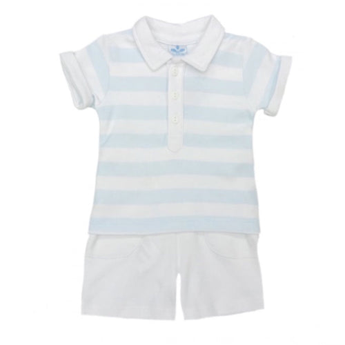Sardon Sky Blue Short Set