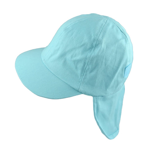 Boys Blue Roll Up Summer Cap