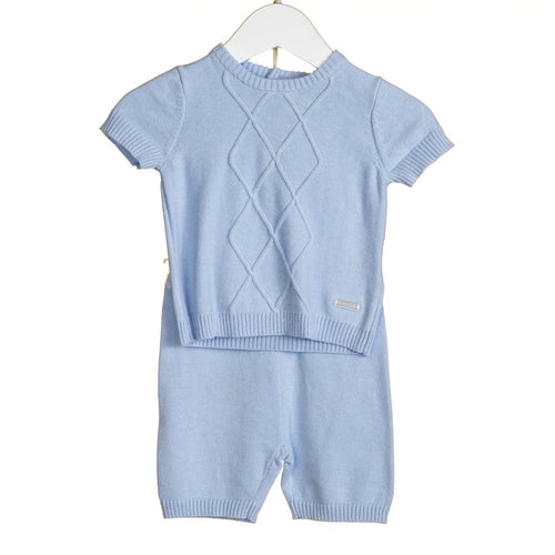 Blues Baby Blue Short Set