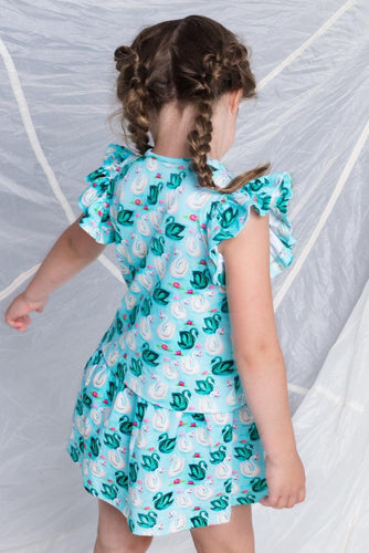 Mim-Pi Swan Dress
