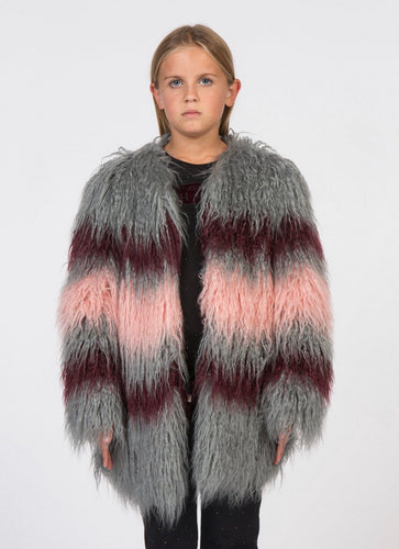 John Richmond JR Faux Fur Coat