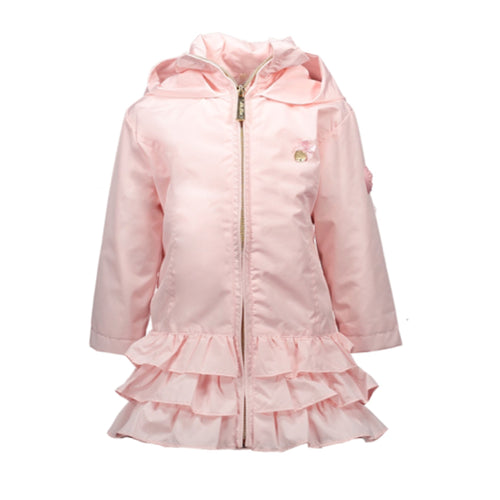 Le Chic Baby Pink Ruffle Jacket