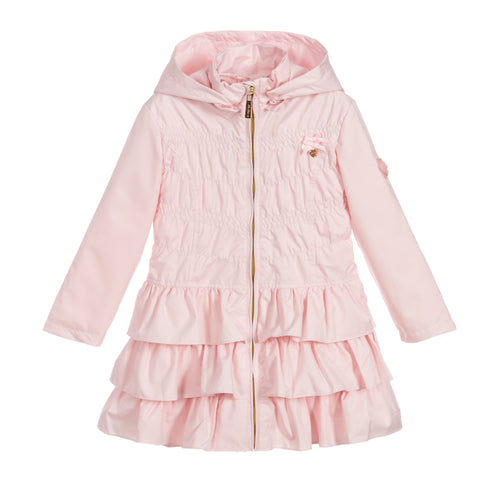 Le Chic Pink Ruffle Jacket