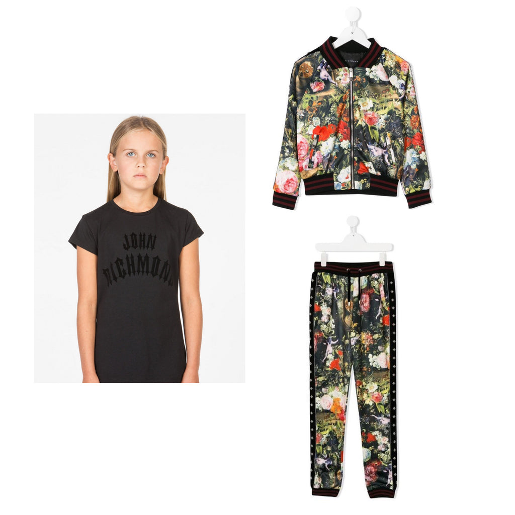 John Richmond JR Flower Tracksuit