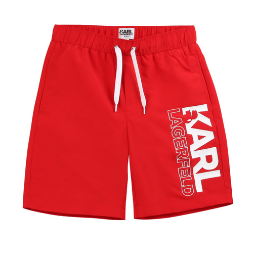 Karl Lagerfeld Red Shorts