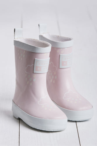 Grass and Air Pink Wellies