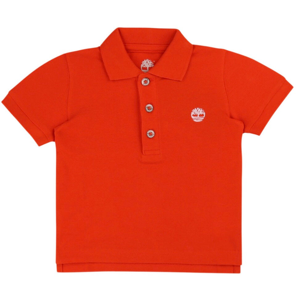 Timberland Orange Polo