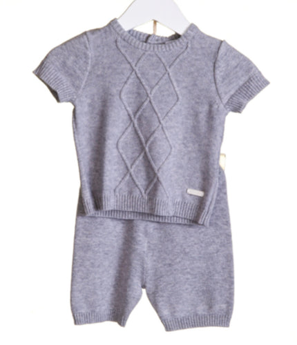 Blues Baby Grey Short Set