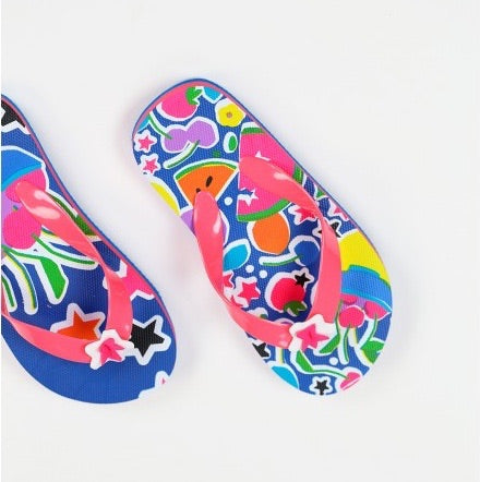 Boboli Girls Fruit Flip Flops