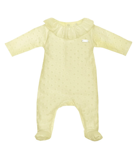 Laranjinha Dotty Babygrow MORE COLOURS+