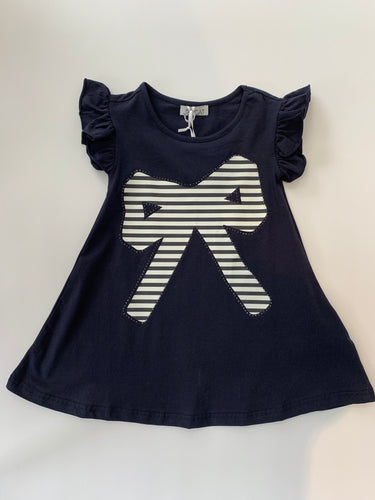 Jeycat Navy Bow Dress