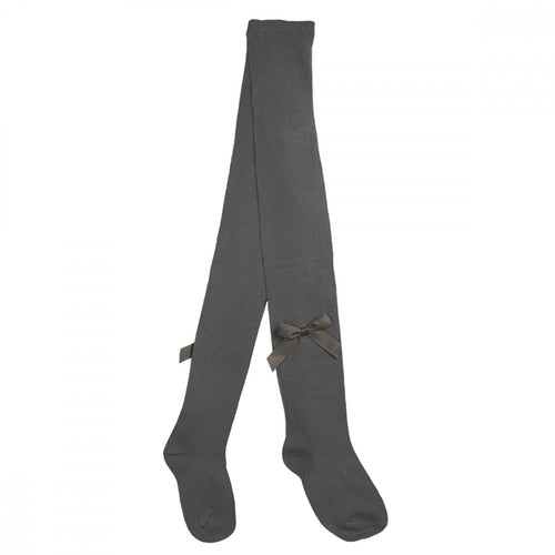 Pex Grey Bow Tights