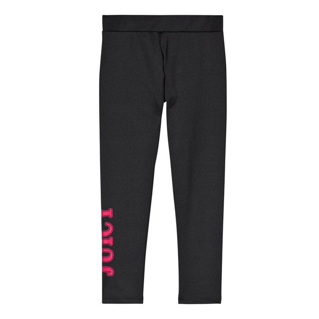 JUICY By Juicy Couture Black Branded Leggings