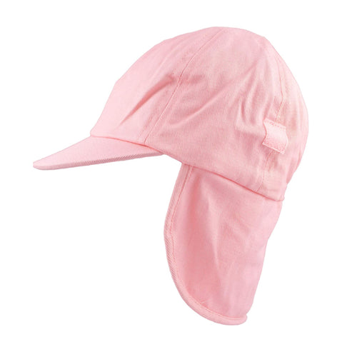 Girls Pink Roll Up Summer Cap