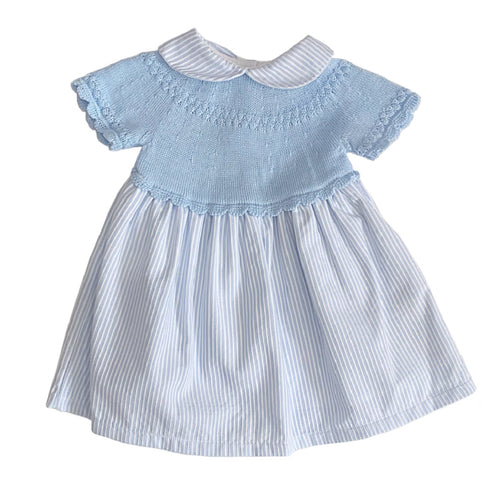 Sardon Sky Blue Dress