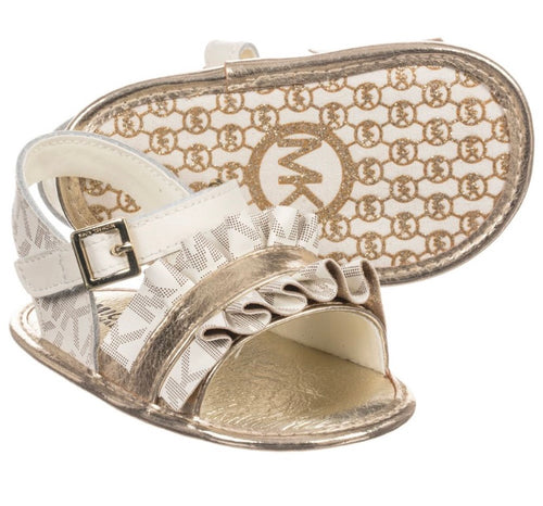 Michael Kors Gold Soft Sole Sandals