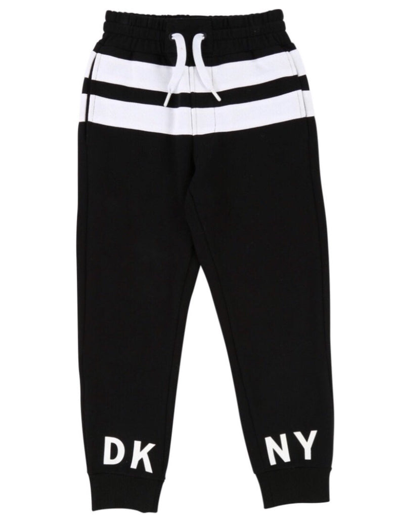 DKNY Black Stripe Joggers