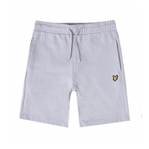 Lyle&Scott JR Cloud Blue Logo Shorts