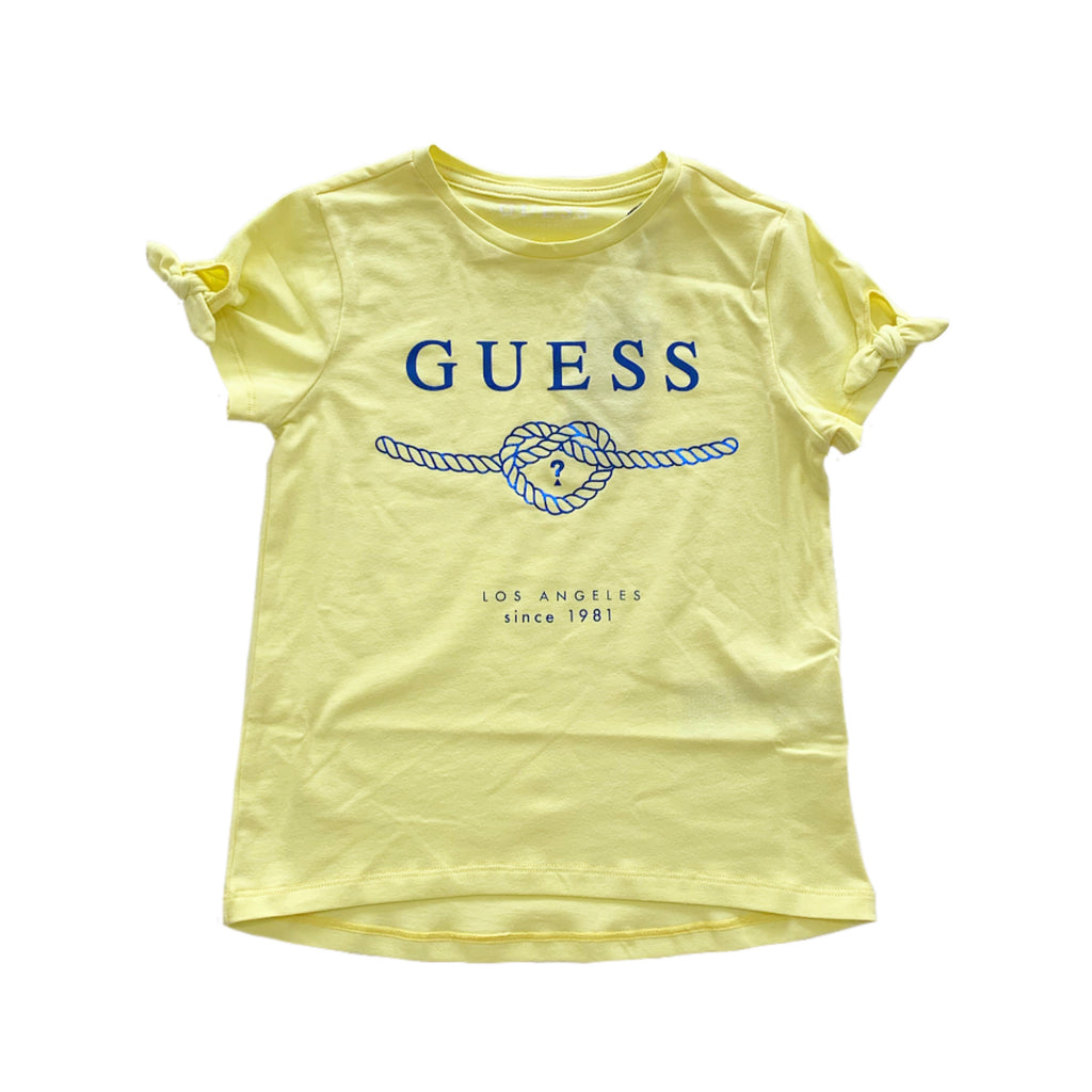 Guess Yellow Tie T-Shirt