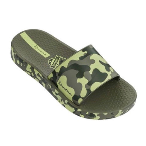 Ipanema Khaki Camo Sliders